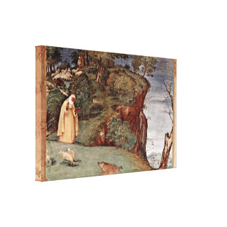 Lorenzo Lotto - Blessing of the St Clare Gallery Wrap Canvas