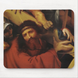 Lorenzo Lotto- Christ Carrying the Cross Mousepads