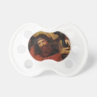 Lorenzo Lotto- Christ Carrying the Cross Baby Pacifiers