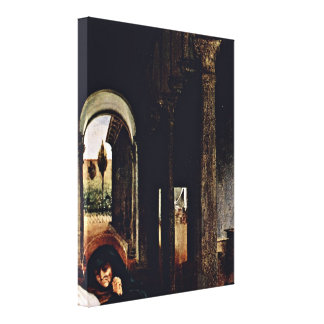 Lorenzo Lotto - Christs Farewell to Maria Gallery Wrapped Canvas