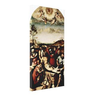 Lorenzo Lotto - Cross Gallery Wrap Canvas