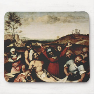 Lorenzo Lotto- Deposition of Christ Mouse Pad
