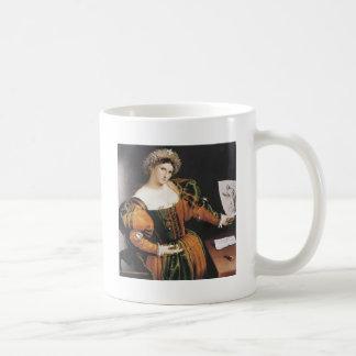 Lorenzo Lotto Lucretia Classic White Coffee Mug