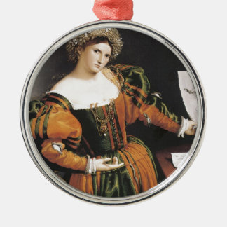 Lorenzo Lotto Lucretia Ornaments