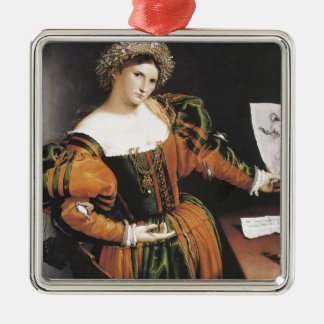Lorenzo Lotto Lucretia Christmas Ornament