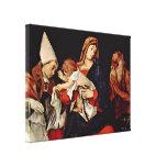 Lorenzo Lotto - Madonna with Saints Gallery Wrap Canvas