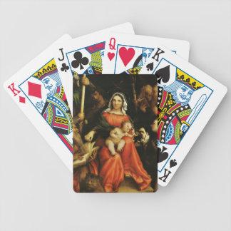 Lorenzo Lotto- Mystic marriage of Saint Catherine Card Decks