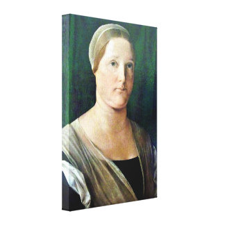 Lorenzo Lotto - Portrait of a Woman Gallery Wrap Canvas