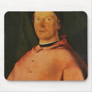 Lorenzo Lotto- Portrait of Bishop Bernardo Rossi Mouse Pad