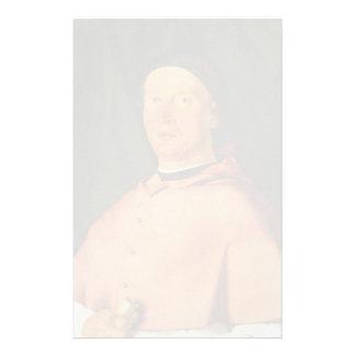 Lorenzo Lotto- Portrait of Bishop Bernardo Rossi Personalized Stationery