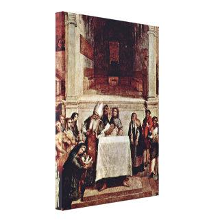 Lorenzo Lotto - Presentation in the Temple Canvas Prints