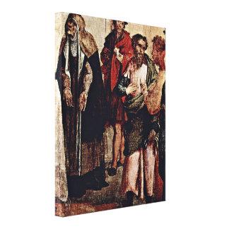 Lorenzo Lotto - Presentation in the Temple Gallery Wrap Canvas