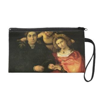 Lorenzo Lotto- Signor Marsilio Cassotti & his Wife Wristlet Clutches