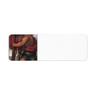 Lorenzo Lotto- St. Christopher Return Address Label