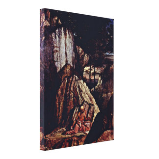 Lorenzo Lotto - St Jerome in the Desert Canvas Prints