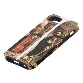 Lorenzo Lotto- Sts Thomas Aquinas and Flavian iPhone 5 Cover