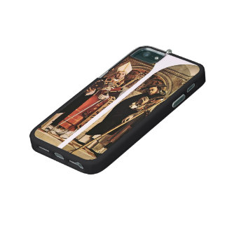 Lorenzo Lotto- Sts Thomas Aquinas and Flavian Cover For iPhone 5/5S