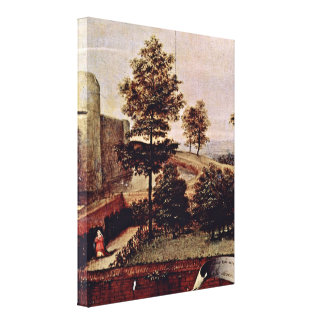 Lorenzo Lotto - Susanna and the Elders Detail Canvas Print