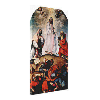 Lorenzo Lotto - Transfiguration Stretched Canvas Print