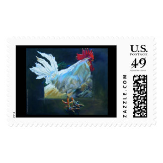 Lorenzo on Green Postage Stamp