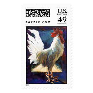 Lorenzo on Purple Postage Stamp