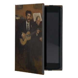 Lorenzo Pagans and Auguste de Gas by Edgar Degas Case For iPad Mini