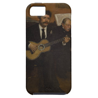 Lorenzo Pagans and Auguste de Gas by Edgar Degas iPhone SE/5/5s Case