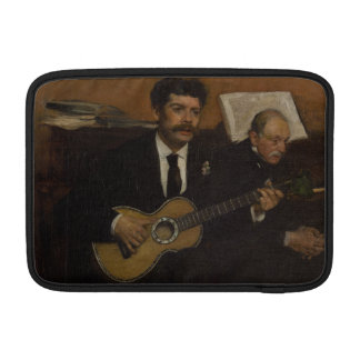 Lorenzo Pagans and Auguste de Gas by Edgar Degas MacBook Sleeve