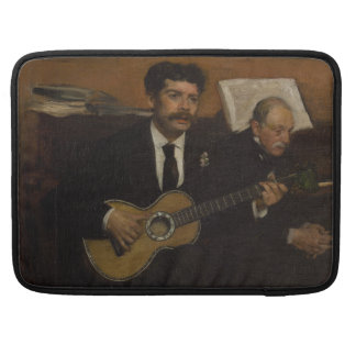 Lorenzo Pagans and Auguste de Gas by Edgar Degas Sleeve For MacBook Pro