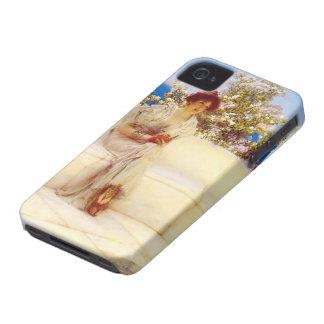 Lorenzo Tadema- el año s en la primavera Case-Mate iPhone 4 Fundas