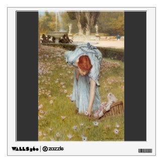 Lorenzo Tadema: Primavera de la flora en los jardi