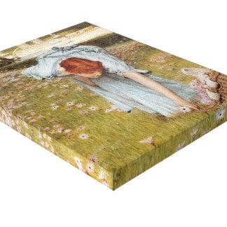 Lorenzo Tadema: Primavera de la flora en los jardi Impresion De Lienzo