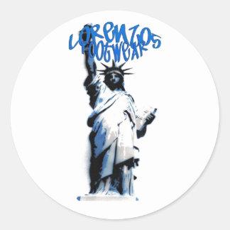 lorenzos logo Sticker