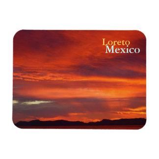 Loreto Sunrise Rectangular Photo Magnet