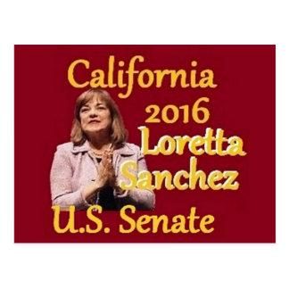 Loretta SANCHEZ Senate 2016 Postcard