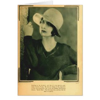 Loretta Young 1929 portrait Card