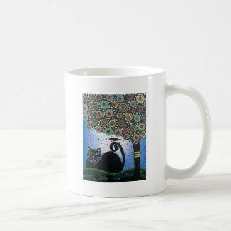 Lori Everett_ Day Of The Dead_ Black Cat_Mexican Mug