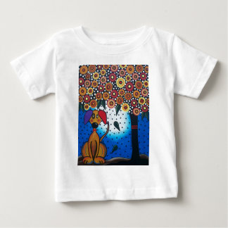 Lori Everett_ Day Of The Dead_Dog, Doggie Art Baby T-Shirt