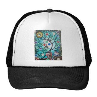 Lori Everett_ Day Of The Dead_Mexican_Skulls_DOD Trucker Hat