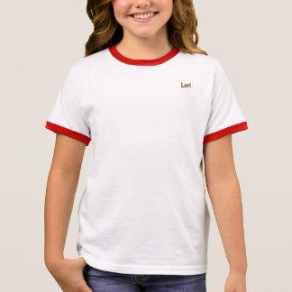 Lori  Girl's Ringer T-Shirt