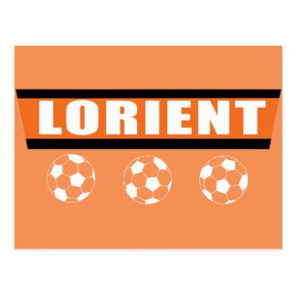 Lorient Lorientais fútbol Tarjeta Postal