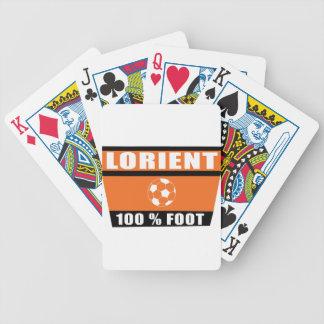 Lorient Lorientiais fútbol Cartas De Juego