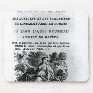 'l'Origine y les Fondements de Discours Tapete De Raton