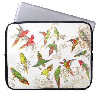 Lorikeet Parrot Birds Wildlife Animals Computer Sleeve