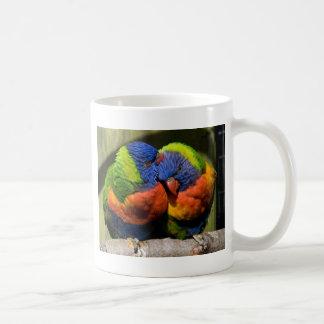 Lorikeets in Love Coffee Mug