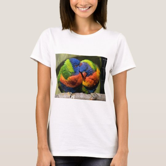 Lorikeets in Love T-Shirt