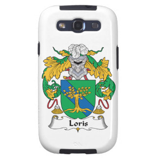 Loris Family Crest Samsung Galaxy SIII Case