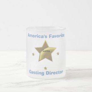 LORNA: AMERICA'S FAVORITE CASTING DIRECTOR 10 OZ FROSTED GLASS COFFEE MUG
