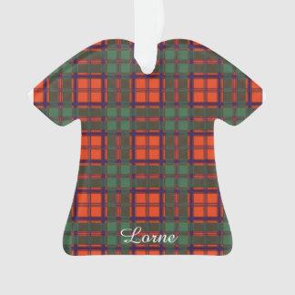 Lorne clan Plaid Scottish kilt tartan Ornament
