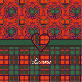 Lorne clan Plaid Scottish kilt tartan Statuette
